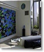 Apartment In Dumbo Metal Print
