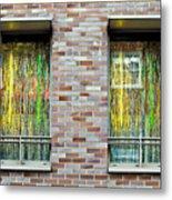 Apartment Window Metal Print