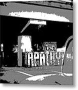 Apathy Avenue Metal Print