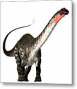 Apatosaurus Profile Metal Print