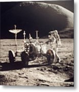 Apollo 15, 1971 Metal Print