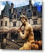 Apollo Playing The Flute Metal Print