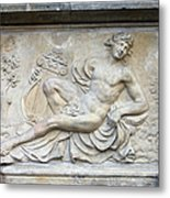 Apollo Relief In Gdansk Metal Print
