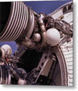 Apollo Rocket Engine Metal Print