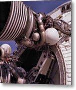 Apollo Rocket Engine Metal Print