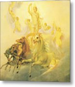 Apollo With The Hours Metal Print
