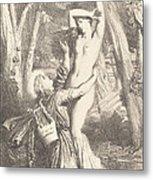 Apollon Et Daphne Metal Print