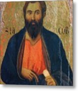 Apostle Jacob 1311 Metal Print
