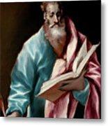 Apostle Saint Matthew Metal Print