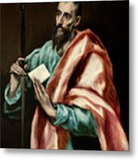 Apostle Saint Paul Metal Print