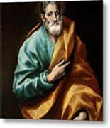 Apostle Saint Peter Metal Print