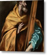 Apostle Saint Philip Metal Print