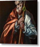 Apostle Saint Thaddeus, Jude Metal Print