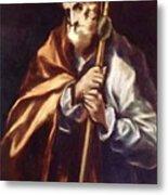 Apostle St Thaddeus Jude Metal Print
