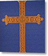 Apostle's Cross Metal Print