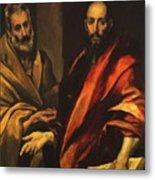 Apostles Peter And Paul 1592 Metal Print