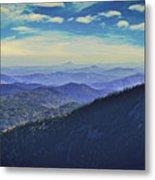 Appalachia Blue Metal Print