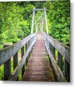 Appalachian Bridge Metal Print