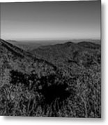 Appalachian Mountains From Mount Mitchell, The Highest Point In  Metal Print