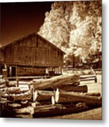 Appalachian Saw Mill Metal Print