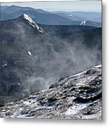 Appalachian Trail - Franconia Ridge-white Mountains New Hampshire Metal Print