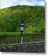 Appalachian Trail In West Virginia Goes Through Harpers Ferry Metal Print