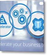 Appcelerator-development-mobiloitte Metal Print