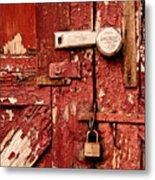 Appealing Barn Door Metal Print