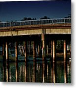 Appian Way Bridge Metal Print