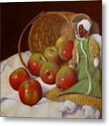 Apple Annie Metal Print by Donelli  DiMaria