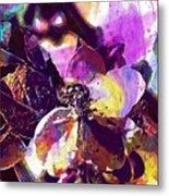 Apple Beetles Flowers Pollinating  Metal Print
