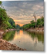 Apple Creek At Dusk Metal Print