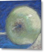 Apple Impressions Metal Print