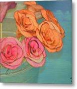 Apple Roses Metal Print