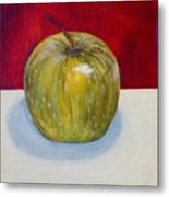 Apple Study Metal Print