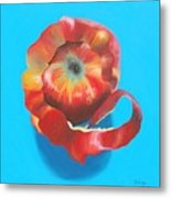 Apple Twist Metal Print