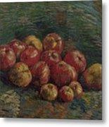 Apples Paris, September - October 1887 Vincent Van Gogh 1853 - 1890 Metal Print