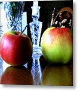 Apples Still Life Metal Print