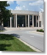 Appleton Museum Of Art Metal Print by Warren Thompson