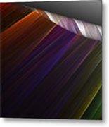 Applying Color Metal Print