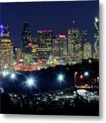 Approaching Dallas From Fort Worth Metal Print