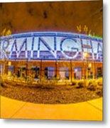April 2015 - Birmingham Alabama Regions Field Minor League Baseb Metal Print
