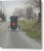 April Afternoon Buggy Ride Metal Print
