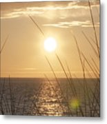 April Beach Metal Print