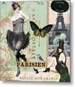 April In Paris Metal Print
