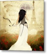 April In Paris Metal Print by Shanina Conway