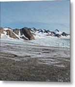 Apusiaquik Glacier Greenalnd Pano 7334-7351 Metal Print
