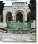 Aqsa Main Arches Metal Print