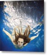 Aqua Marina Metal Print