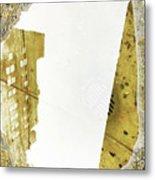 Aqua Metallic Series Together Apart Metal Print